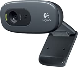 Logitech C270 Desktop or Laptop Webcam, HD 720p Widescreen for Video Calling and Recording (Renewed)