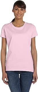 Ladies 5 oz HD Cotton T-Shirt - White - S - (Style # L3930R - Original Label)