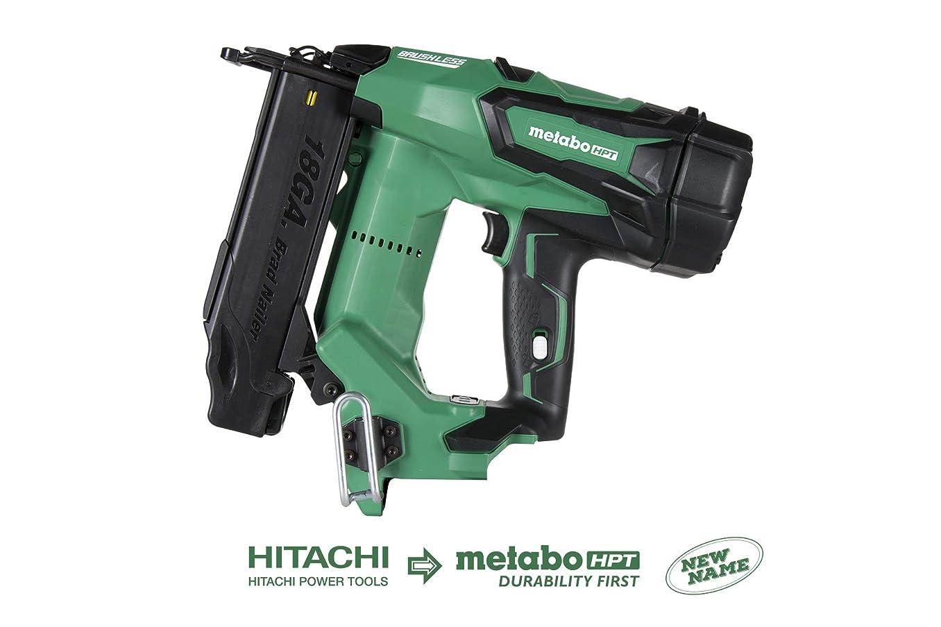 Metabo HPT NT1850DEQ4 18V Cordless Brad Nailer, Tool Only - No Battery, Brushless Motor, 18 Gauge, 5/8