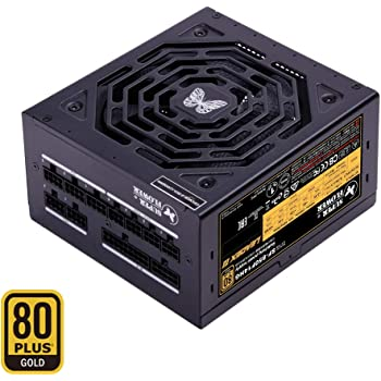 Super Flower Leadex III Gold 850W 80+ Gold, ECO Fanless & Silent Mode, Full Modular Power Supply, Fluid Dynamic Bearing Fan, 10 Year Warranty,SF-850F14HG