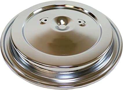 STEEL 1993-UP CHEVY GMC TRUCK AIR CLEANER TOP CHROME