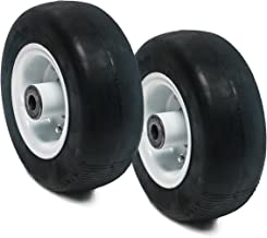 Replaces GHS 2PK Flat Free Tire Assembly for Walker 8x3.00-4 8715-3, 5715-3, 5715-4, 4218