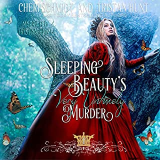 Sleeping Beauty's Very Untimely Murder audiobook cover art
