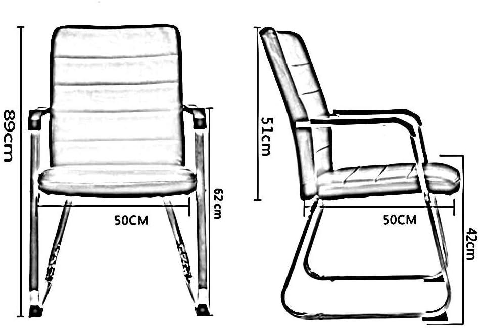 Chaises de Bureau Ménage, Siège De Fauteuil de Bureau D'ordinateur de Maille Simple Moderne Ergonomique D'unité Centrale (Color : White and Black) White