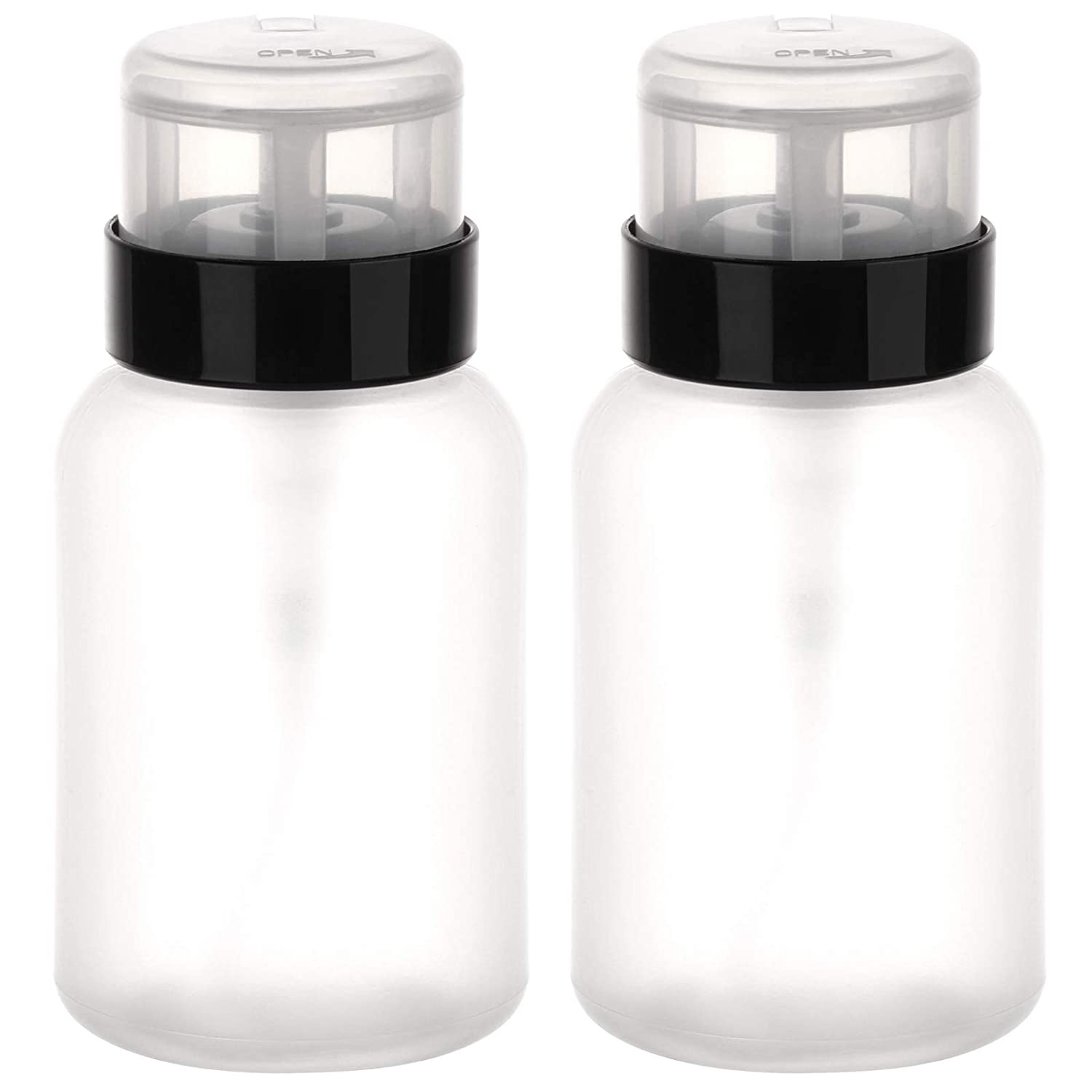 Pack of 2 Push Down Pump Bottle Dispenser Lockable for Alcohol Oakland Mall Now free shipping