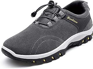 WggWy Primavera Otoño Hombres Zapatos Casuales, Tendencia Al Aire Libre Deportes Zapatos De Hombre De Gran Tamaño Antidesl...