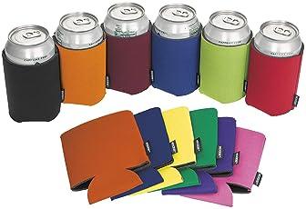 LOT of 25 ORANGE Can Holders Blank Beer Soda Coolers 12 oz Printable