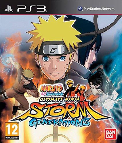 Naruto Shippuden : Ultimate Ninja Storm Generations + Booster Paquet De 8 Cartes Naruto [Edizione: Francia]