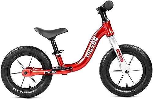 seguro de calidad Bicicleta de equilibrio para Niños para Niños y niñas niñas niñas  no pedalee la bicicleta de entrenamiento deportivo con marco de acero al carbono, manillar y asiento ajustables - Bicicleta para Niños para Niños  Seleccione de las marcas más nuevas como