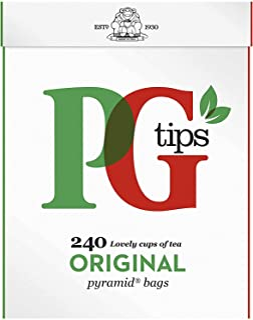 PG Tips Zwarte Thee 240pcs pyramidezakjes 690 gram