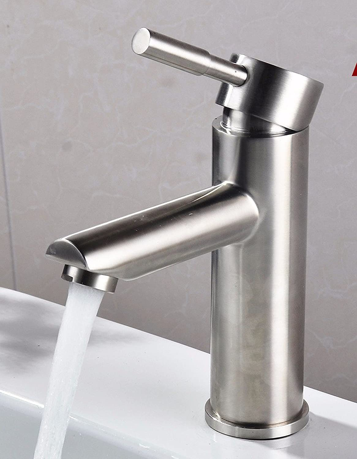 AWXJX Stainless Steel hot and cold Single Single Hole washing the face water taps