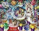 Nativity Snow Globes Jigsaw Puzzle 1000 Piece