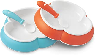 BABYBJORN Baby Plate Spoon and Fork by BabyBj/Ã/ƒ/Â/¶rn Orange//Turquoise