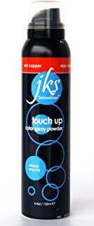 Touch up spray RED COPPER, temporary hair color spray powder