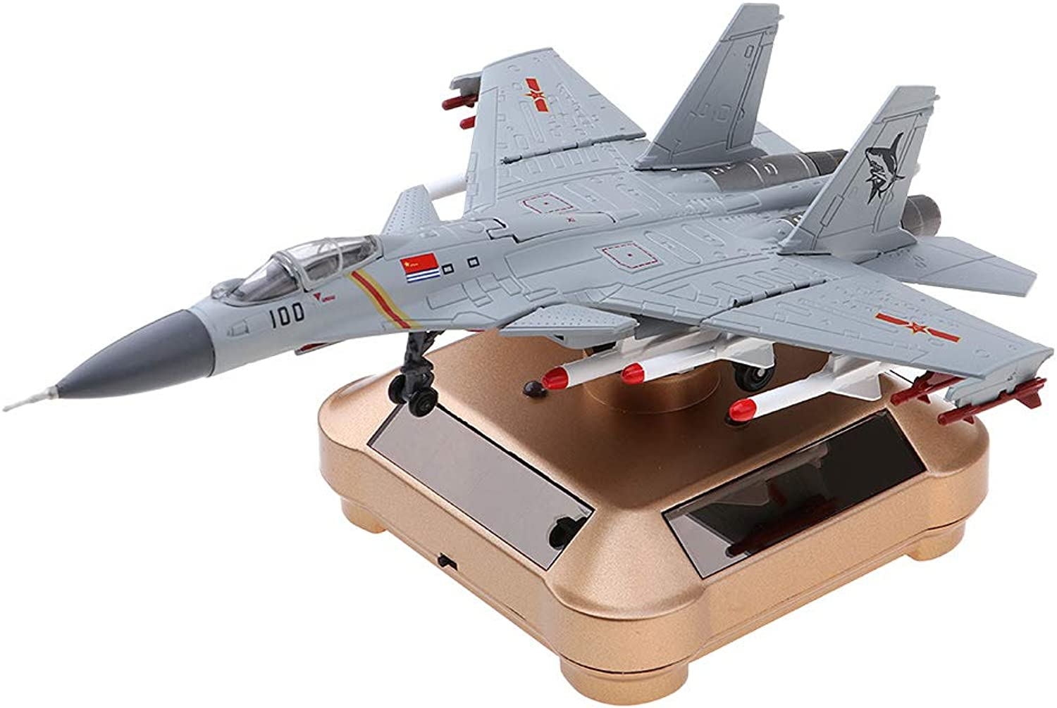 Flameer Collectibles J15 Shipborne Fighter Alloy Model W redate Stand Home Ornament