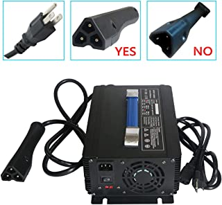 Abakoo New 48V 17A RXV Golf Cart Battery Charger for Star Ez-Go Club Car DS EZgo TXT Yamaha with RXV Plug 3 Prong Connector