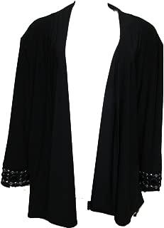 Cardigan Sweater 3X Black
