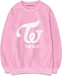 Kpop Twice Pink Sweater Hoodie Fashion Hiphop with lomo Cards