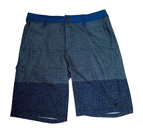 Oneill Mens Riley Hybrid Board Shorts, Blue 32