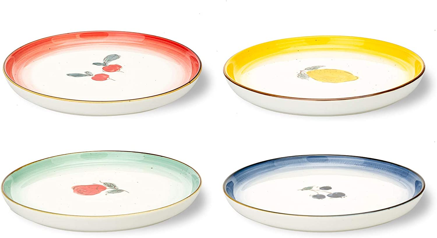 MDZF SWEET HOME Don't miss the campaign 8.2-Inch Porcelain Plates Serv Dinner Set Bargain Pasta