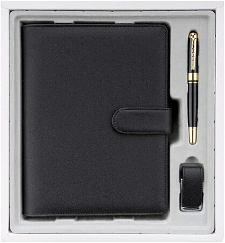 Business - geschenke mit mobile power notebook schreibwaren verdickte verdickte verdickte notebook u teller lose - blatt - a5   3.3cm boxte rot von 8,7,schwarz B07G5CWB5D    | Kaufen Sie online  601a13