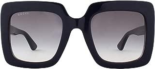 Gucci Women's Sunglasses Square GG0328S Blue/Grey