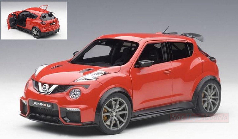 tomamos a los clientes como nuestro dios AUTOART AA77457 Nissan Juke R 2.0 2016 rojo 1 1 1 18 MODELLINO Die Cast Model  diseños exclusivos