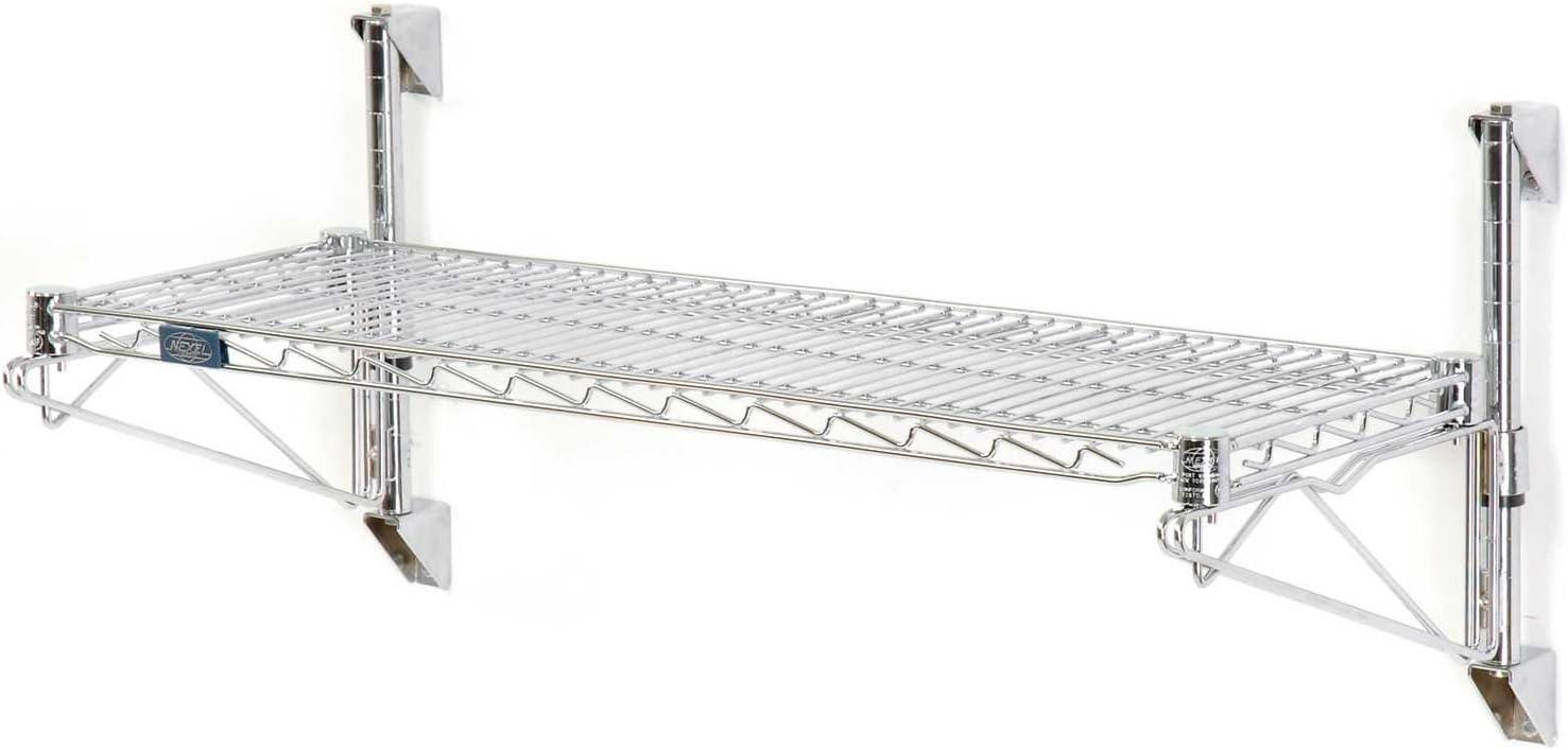 Max 51% OFF Nexel Wall Mount gift Wire 1-Shelf Starter Unit 60