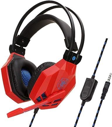 Chshe - Microfono Hi-Fi Deep Bass Headphones_Chshe???? Soyto 3,5Mm Gaming Headset Cuffie Con Microfono Per Ps4/Xbox One/Iphone/Ipad, Ipx7 Impermeabile Wireless Auricolari Cuffie Sportive (Rosso) - Trova i prezzi più bassi