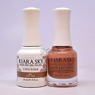 Kiara Sky Matching Gel Polish + Nail Lacquer, CEO, .5 fl. oz by Kiara Sky