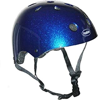 ProRider BMX Bike Skate Helmet - 3 Sizes Available Kids Youth Adult Blue X-Small