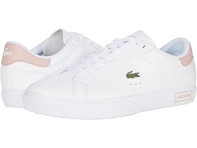 Lacoste Powercourt 0520 1 SFA (White/Light Pink) Women
