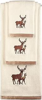 Collections Etc Woodland Deer Towel Set