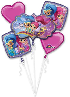 Shimmer and Shine Bouquet Of Balloons