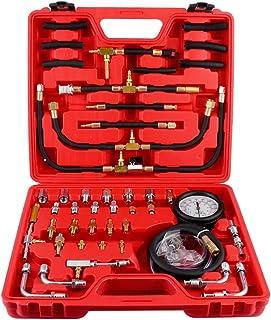 Brandstofdrukmeter, TU-443 Professionele Benzine Dieselmotor Compressie Tester Olie Drukmeetapparaten Brandstofinjectiepom...