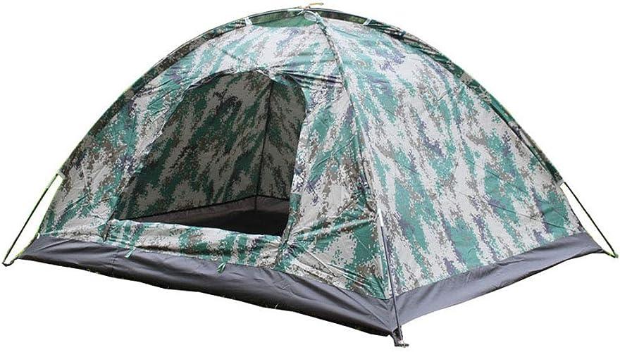 MR.YATODR Tente De Camouflage Numérique Double Tente De Camping en Plein Air Tente De Camping 2 Personnes Ultra Légère