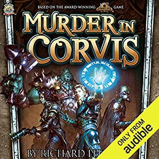 Murder in Corvis cover art