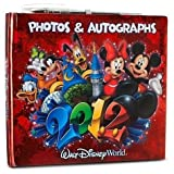 Disney Mundo 2012Mickey Foto con autógrafo Libro con la Pluma (Walt World Exclusive)