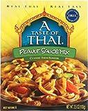 A Taste of Thai Peanut Sauce Mix, 3.5 Oz Pack -- 6 Per Case.