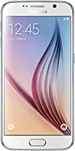 Samsung Galaxy S6 SM-G920V 64GB White Smartphone for Verizon (Renewed)