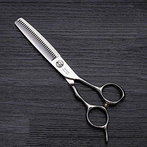 ZGQA-GQA Tijeras de peluquería 6 Pulgadas Tijeras del Corte de Pelo, de Gama Alta del Peluquero Especial del Pelo del Corte de Pelo Tijeras (Color: Plata)