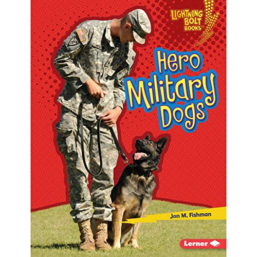 Hero Military Dogs audiobook cover art