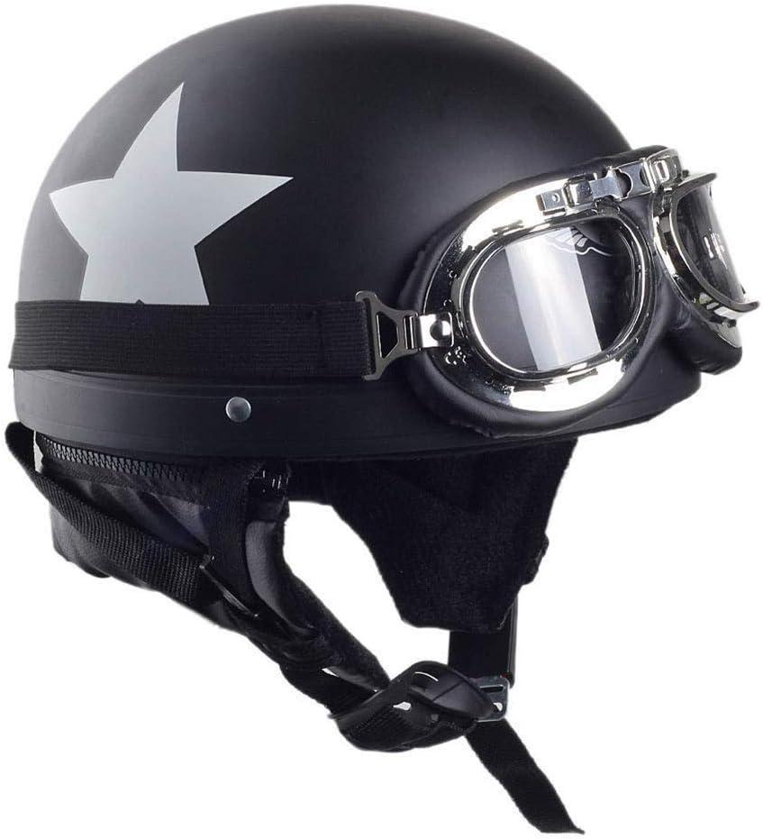 Half Inventory cleanup selling Super sale sale Helmet Retro Men Women of 2 Motorcycle Colors