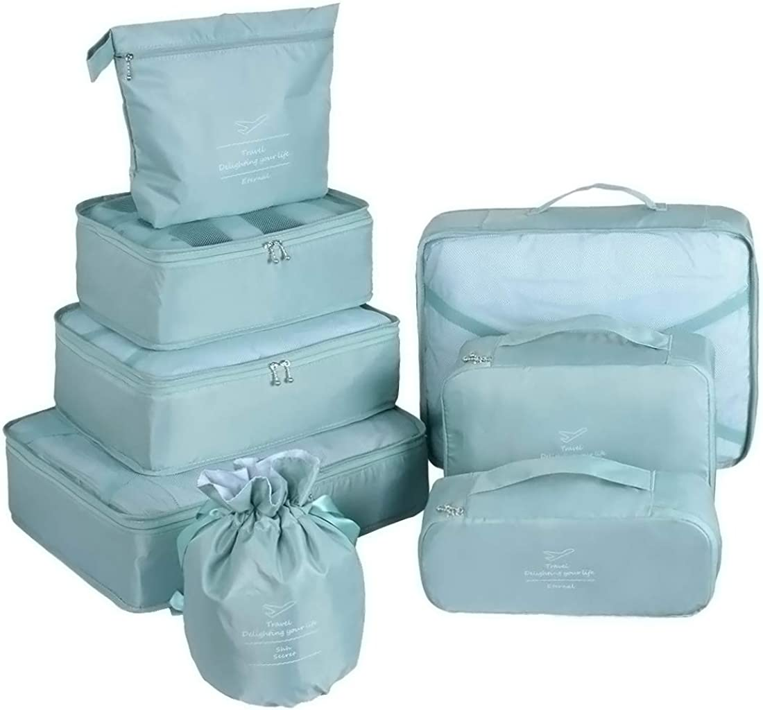 Packing Cubes Online limited product for Travel supreme 8 Luggage Organizer Pcs Cube Set