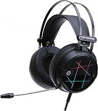 HEADSET GAMER HP COM ILUMINAÇÃO STEREO USB - H160G