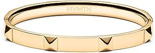 MVMT Women's Stud Bangle Bracelet   Clasp Closure, Stainless Steel