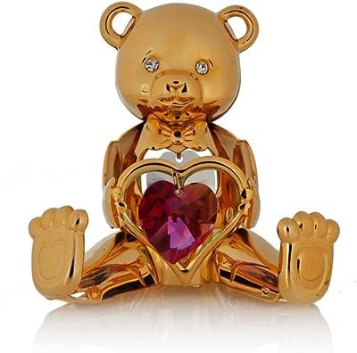 Amazon.com: Tentaciones de vidrio 5051 Teddy Bear 64 mm ...