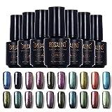 12 Colores de la Esmaltes de Uñas en Gel Semipermanente Baratos por ESAILQ A