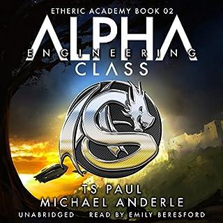 Alpha Class audiobook cover art