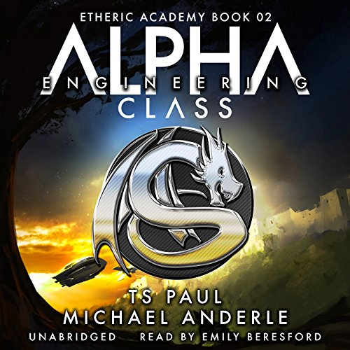 Alpha Class audiobook cover art